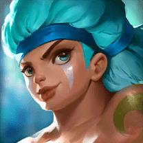 Dungeon Hunter Champions Water Tiki Warrior
