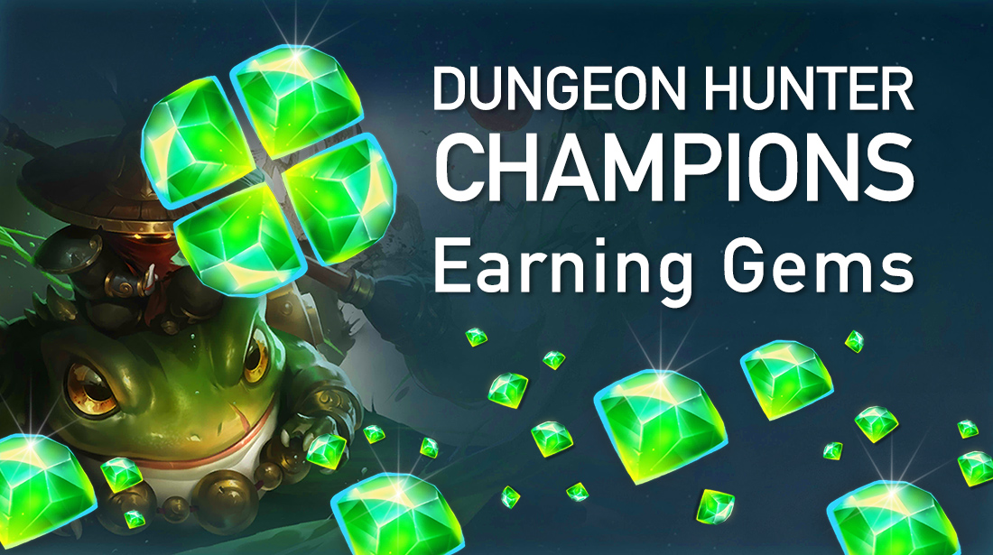 How to Earn Gems Efficiently As A F2P (Free-to-Play) Player In Dungeon Hunter Champions
