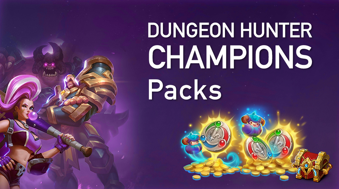 Dungeon Hunter Champions Packs