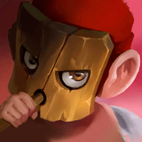Dungeon Hunter Champions Fire Dino Kid