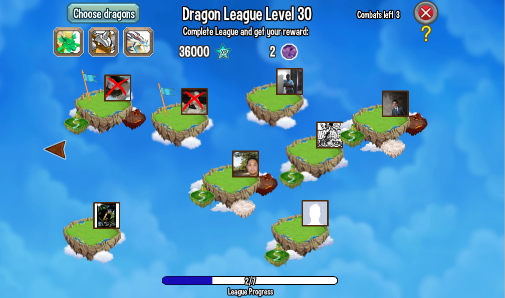 Dragon City Player League