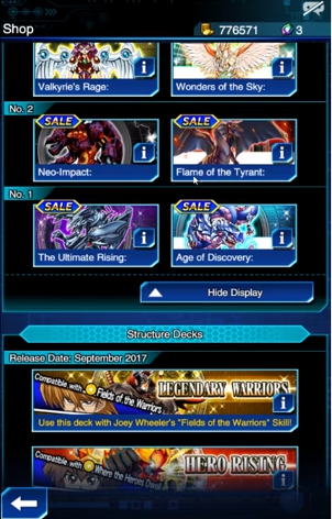 Card Boxes Duel Links
