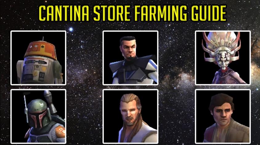 SWGOH F2P Character Farming Guide (For Beginners) – 2018 - Gamer Dan