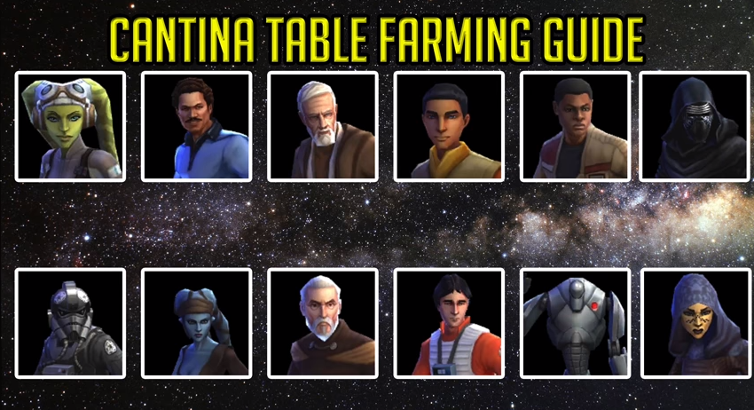 SWGOH F2P Character Farming Guide (For Beginners) – 2018