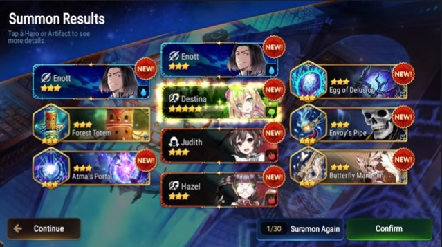 Epic Seven Re-Roll Guide – How To Get That Perfect Start!